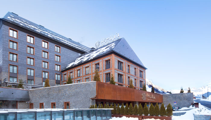 Himalaya hotel baqueira beret webcam