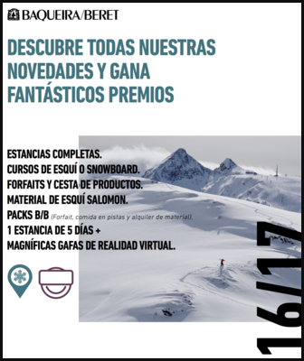 Promoción temporada de esquí 2016-2017