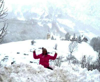 Nieve con seguridad